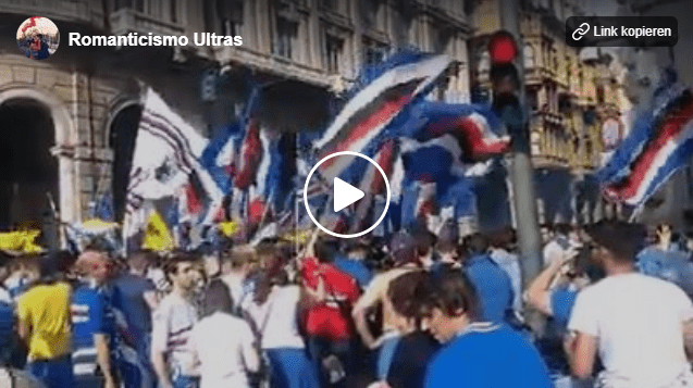 Gemellaggio Parma-Sampdoria: fratellanza ultras fra crociati e blucerchiati (Video)